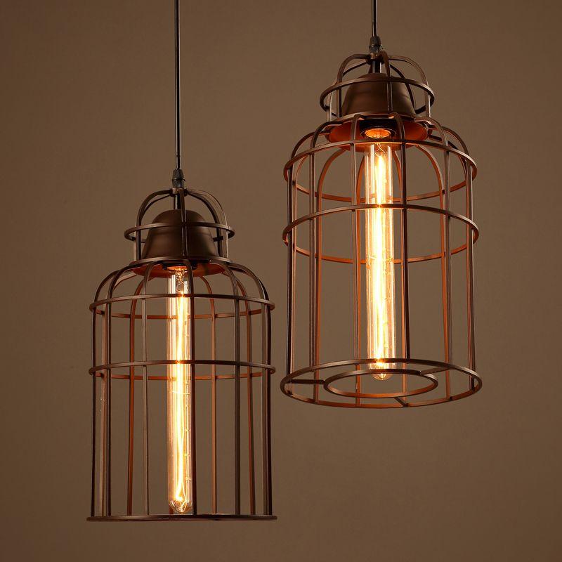 China Metal Pendant Light Copper Chandelier Lamp Modern Art