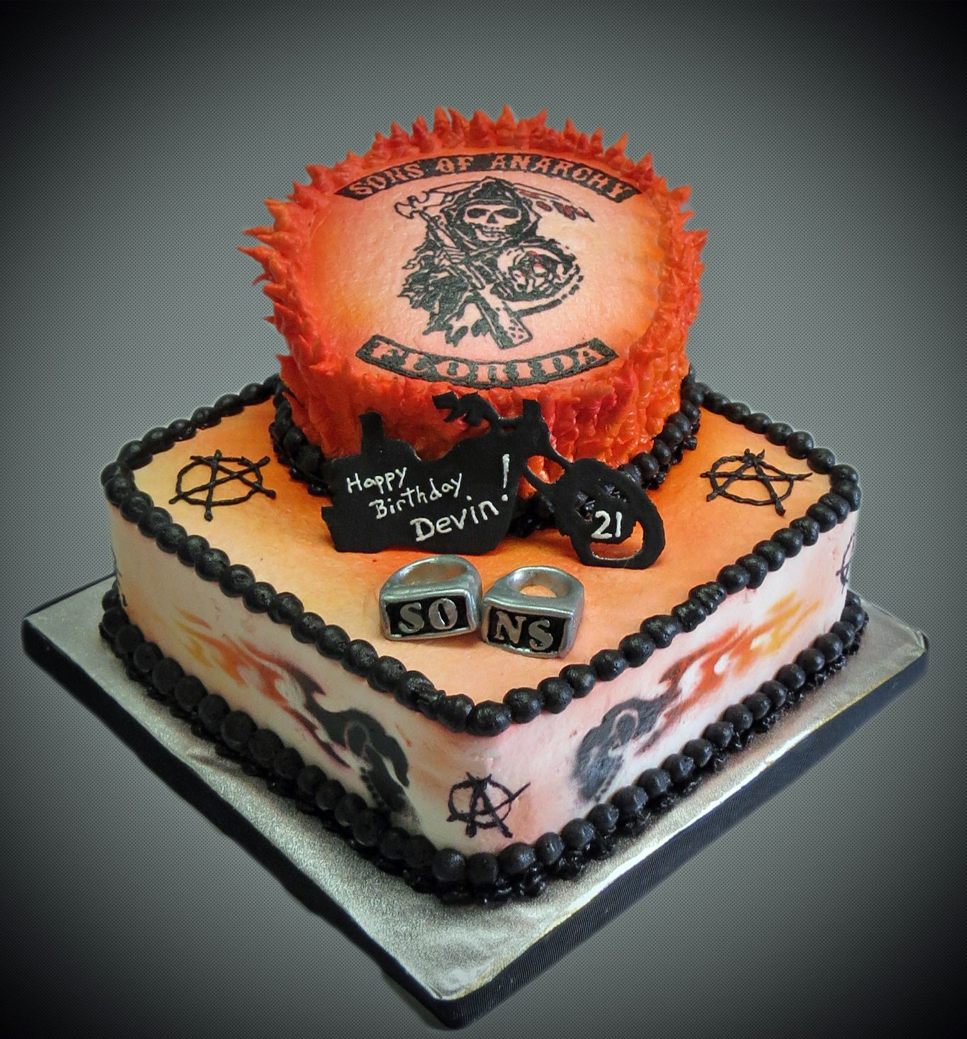 sons of anarchy cake Google Search Cake Crazy