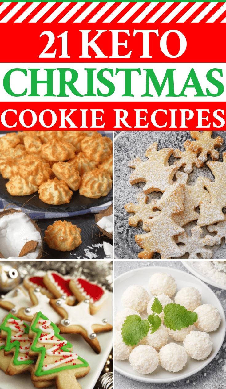 Keto Christmas Cookies 21 Easy Low Carb Holiday Treats Keto