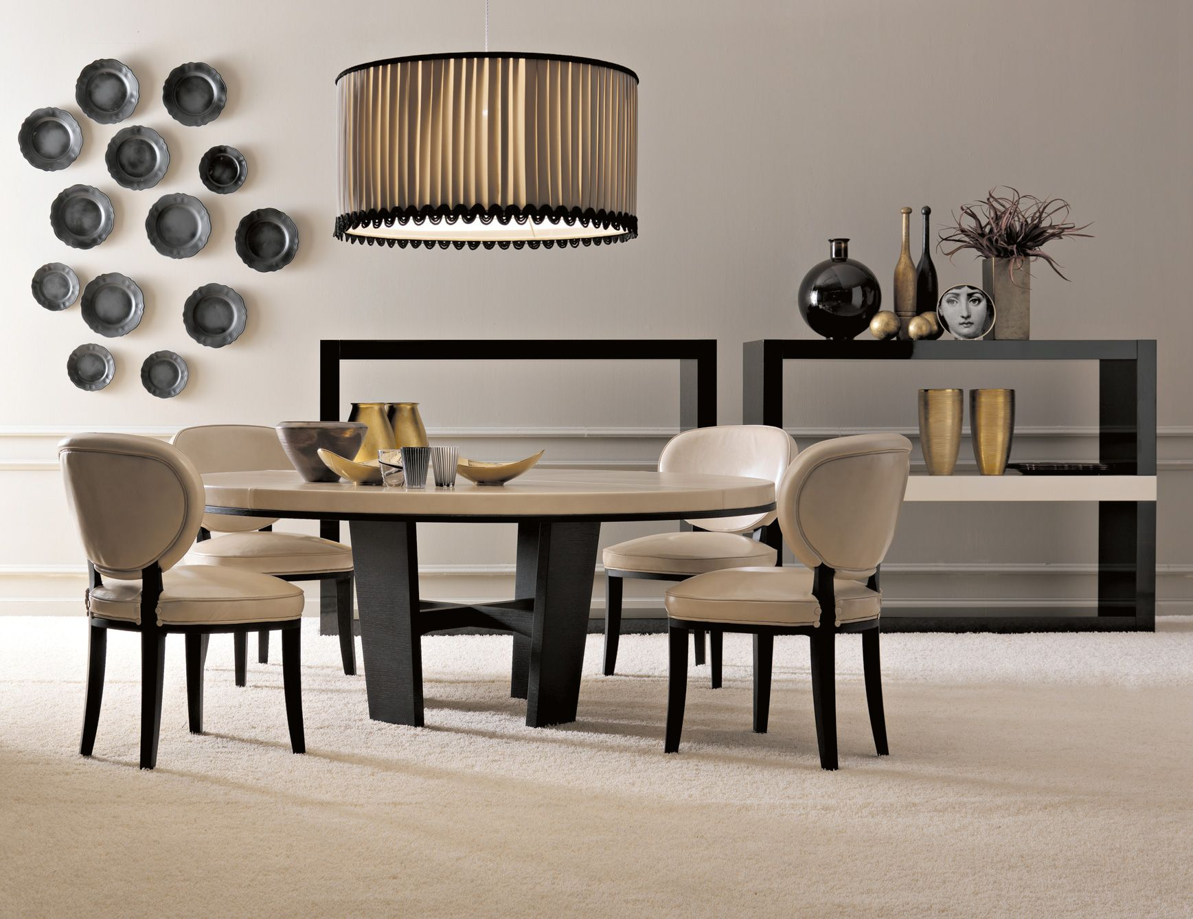 Nella Vetrina Modern Italian Designer Dining Table Handmade In