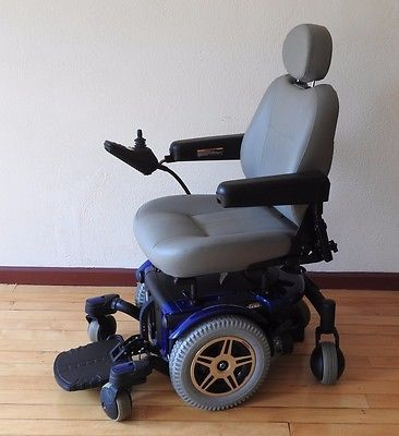 Pride Mobility Jazzy 600 Electric Power Wheelchair Powered