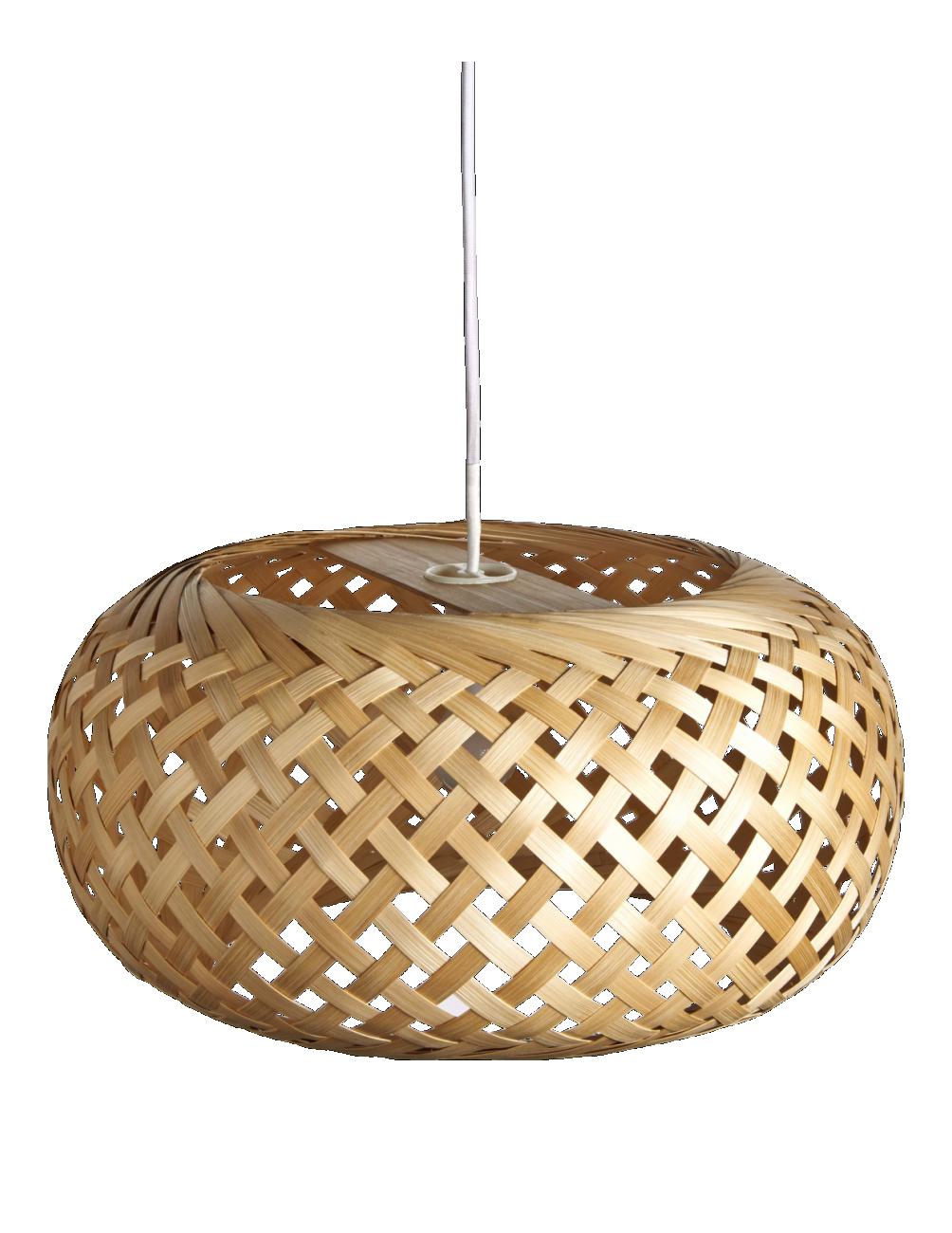 Bamboo Gewebter Lampenschirm Aus Bambus Interior Pinterest