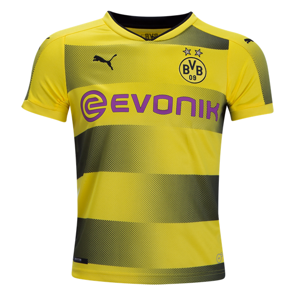 fce5a917ea7 PUMA Borussia Dortmund Youth Home Jersey 17/18 | Products | Borussia ...