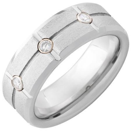 3 Diamond Comfort Fit Band Comfort Fit Band With 60ctw Diamonds Metal Type Serinium Ring Width