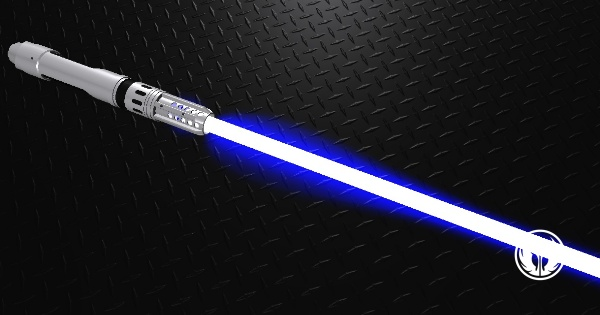 Adaptive Saber Parts Lightsaber I Have Constructed My Saber And The Crystal Is Deep Blue Lightsaber Star Wars Light Saber Star Wars Art