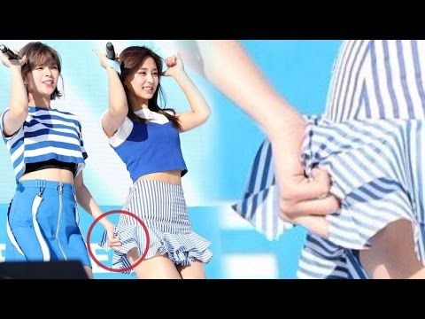 Kpop Female Idols Protecting Others From Wardrobe Accidents Gym Shorts Womens Female Womens Shorts
