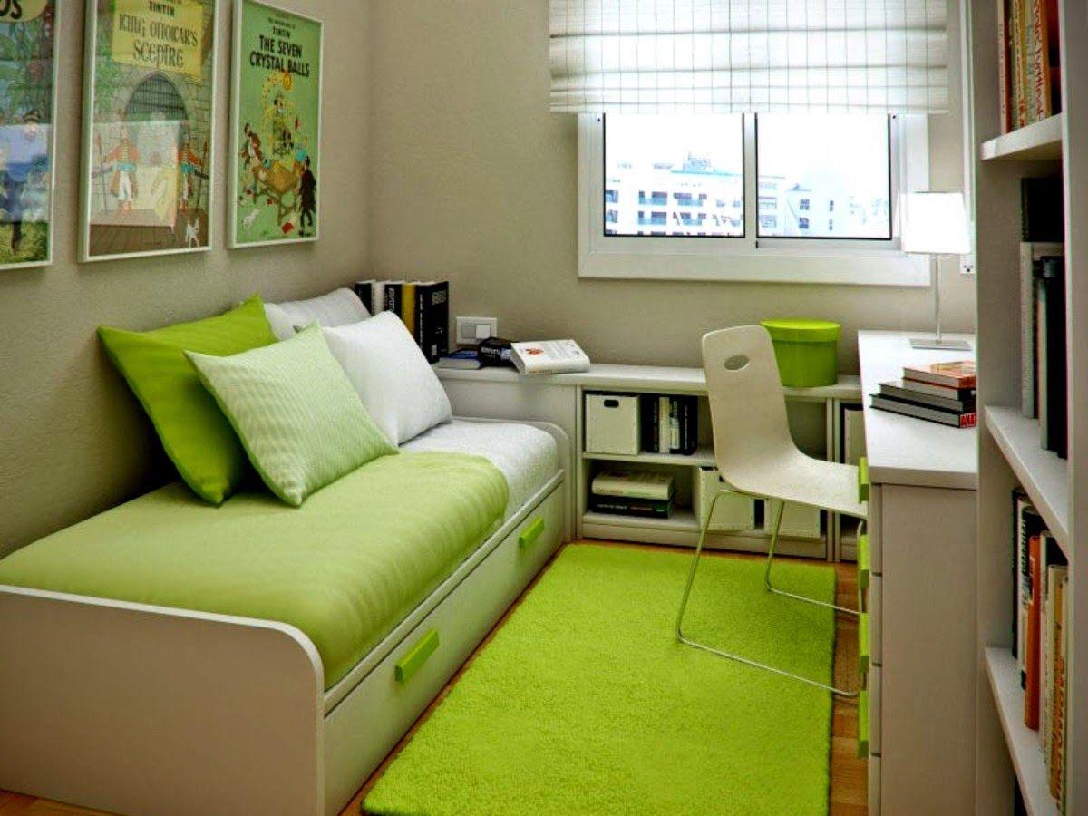 Nice Small Bedroom Designs Inspiration 9 Tips Mengatur Kamar Tidur Yang Sempit  Architect  Pinterest Inspiration Design