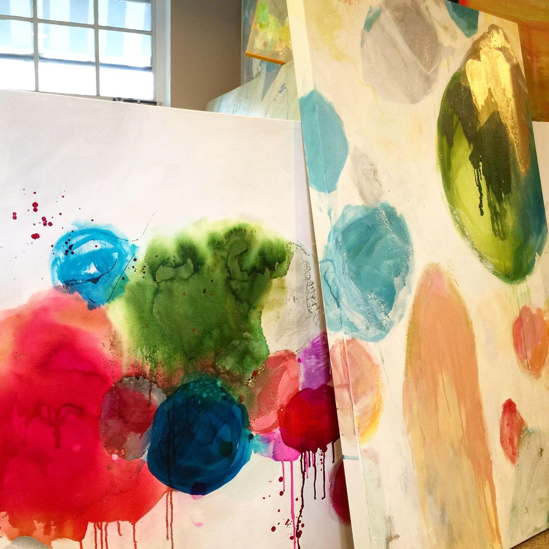 art studio of artist, Windy O'Connor