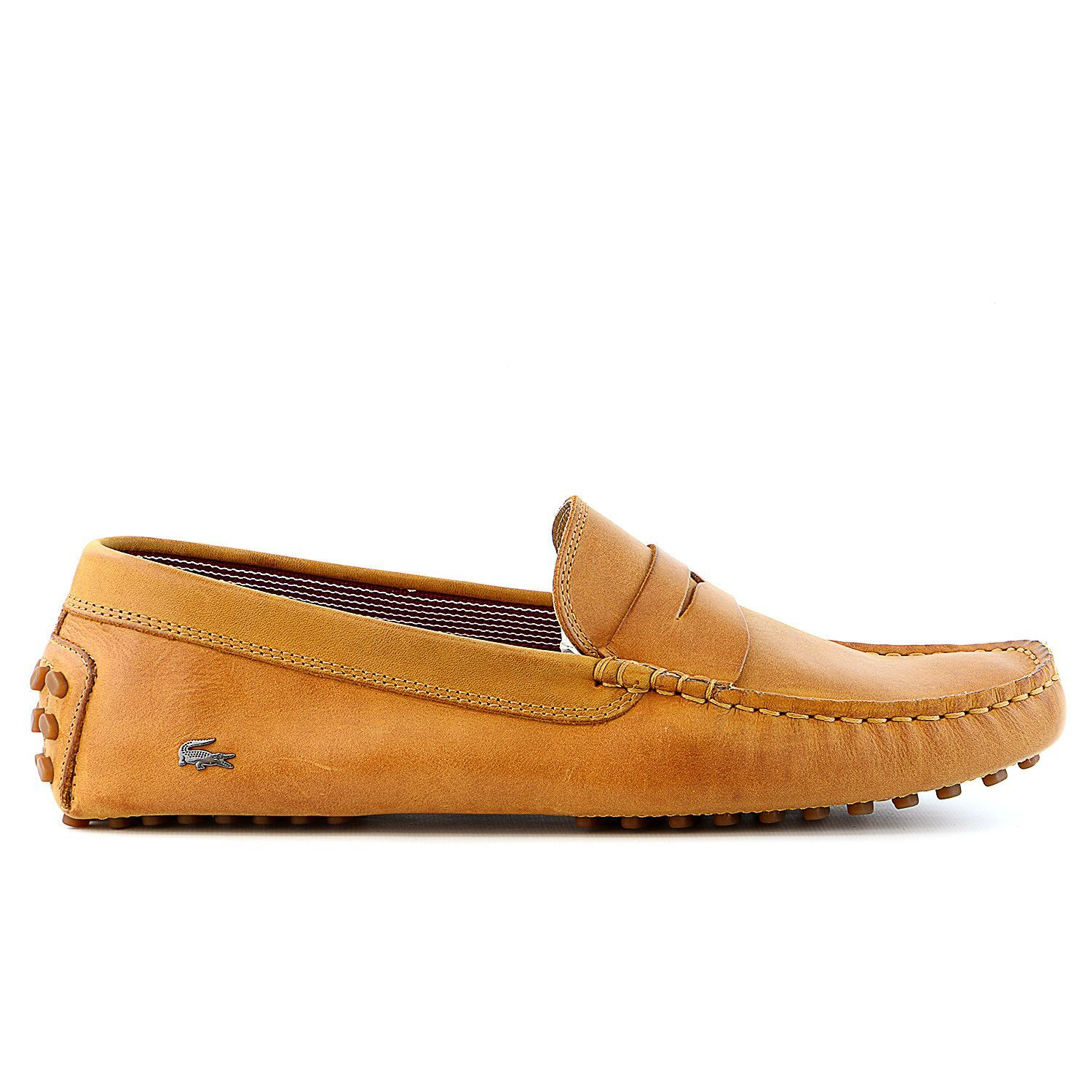 95afe9935 Lacoste Concours 16 SRM Leather Moccasin Loafer Shoe - Mens