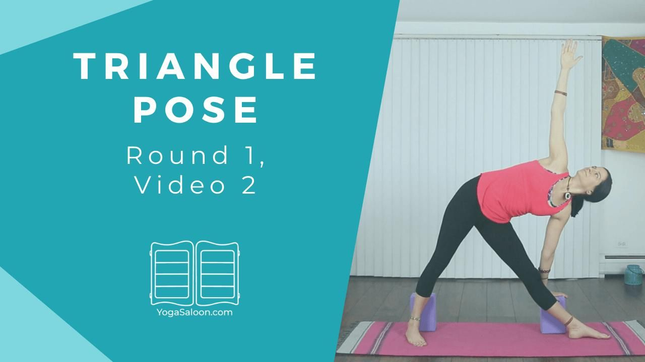 Triangle Pose Beginner S Yoga Video In 2020 Physical Education Activities Yoga Challenge Yoga Poses