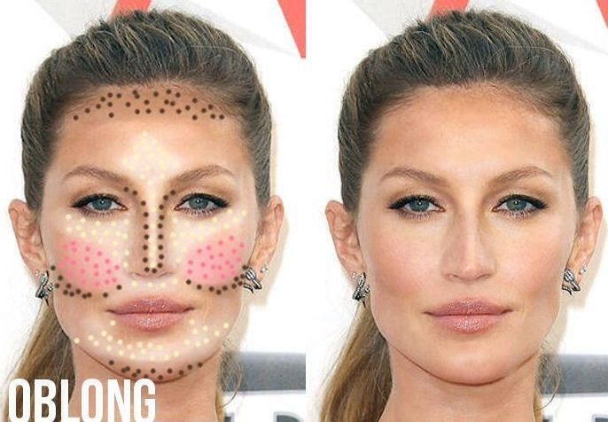 How To Contour Your Face To Look Younger With Images