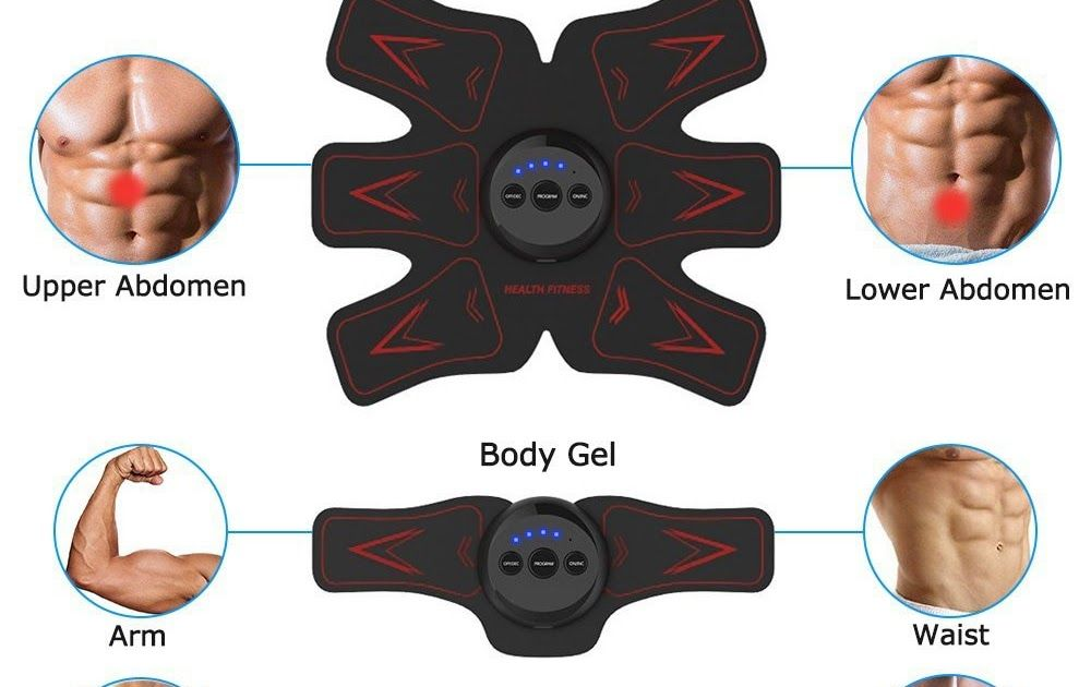 Cheapest Fitness Rechargeable Muscle Stimulator Academy
