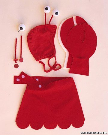 Lobster Costume Halloween Costume Ideas Pinterest Baby - martha stewart outdoor halloween decorations