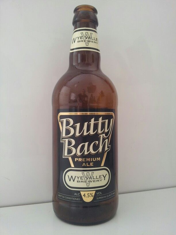 Butty Bach premium ale from Wye Valley Brewery