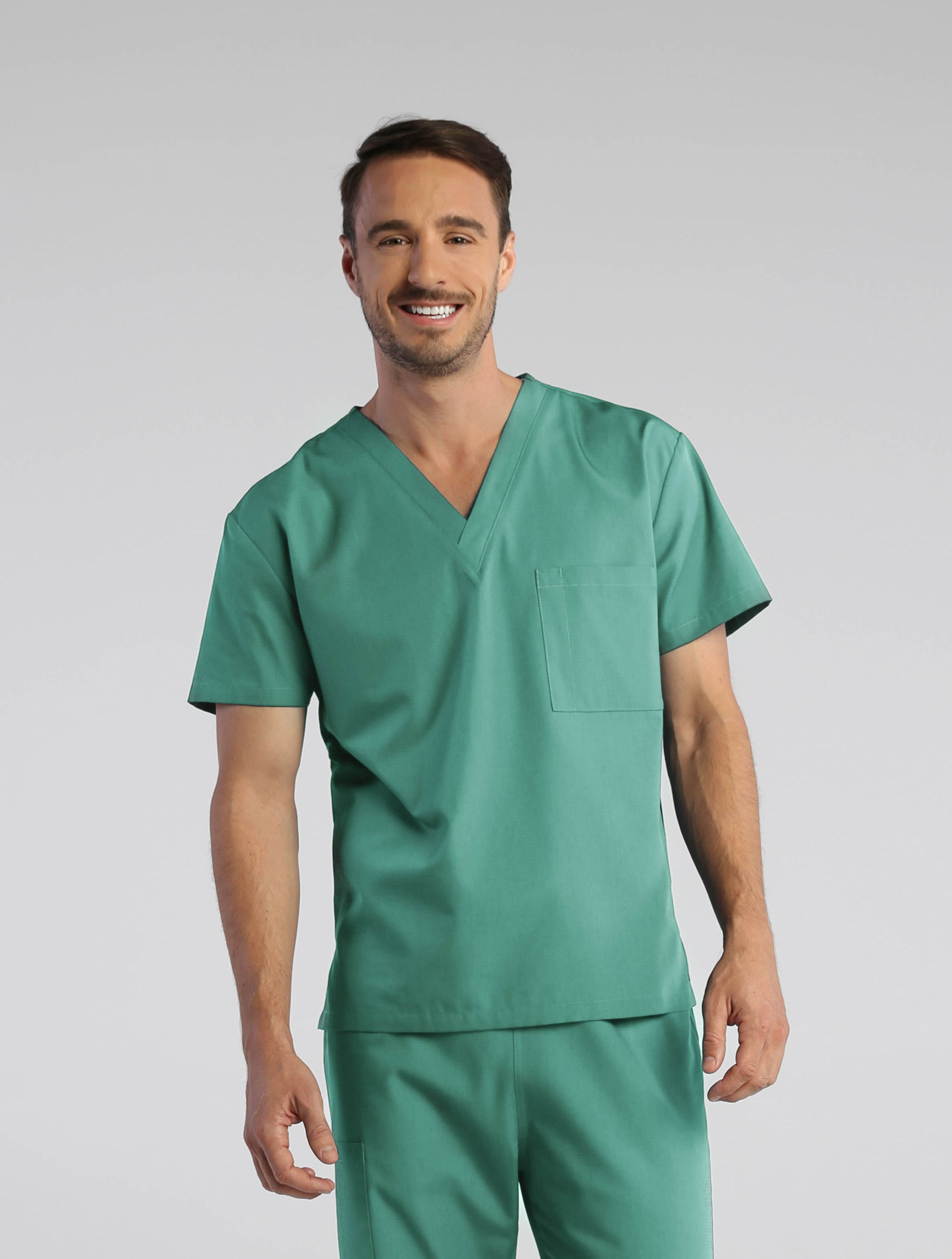 b806f0bfb0c Our Red Panda scrubs are finally available in Surgical Green! This unisex  scrub set just got even more group friendly with six new colors that are  perfect ...