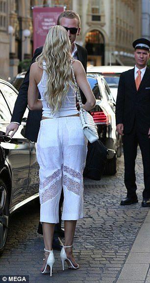 fd8891ce6 Candice Swanepoel walks runway at Donatella Versace show