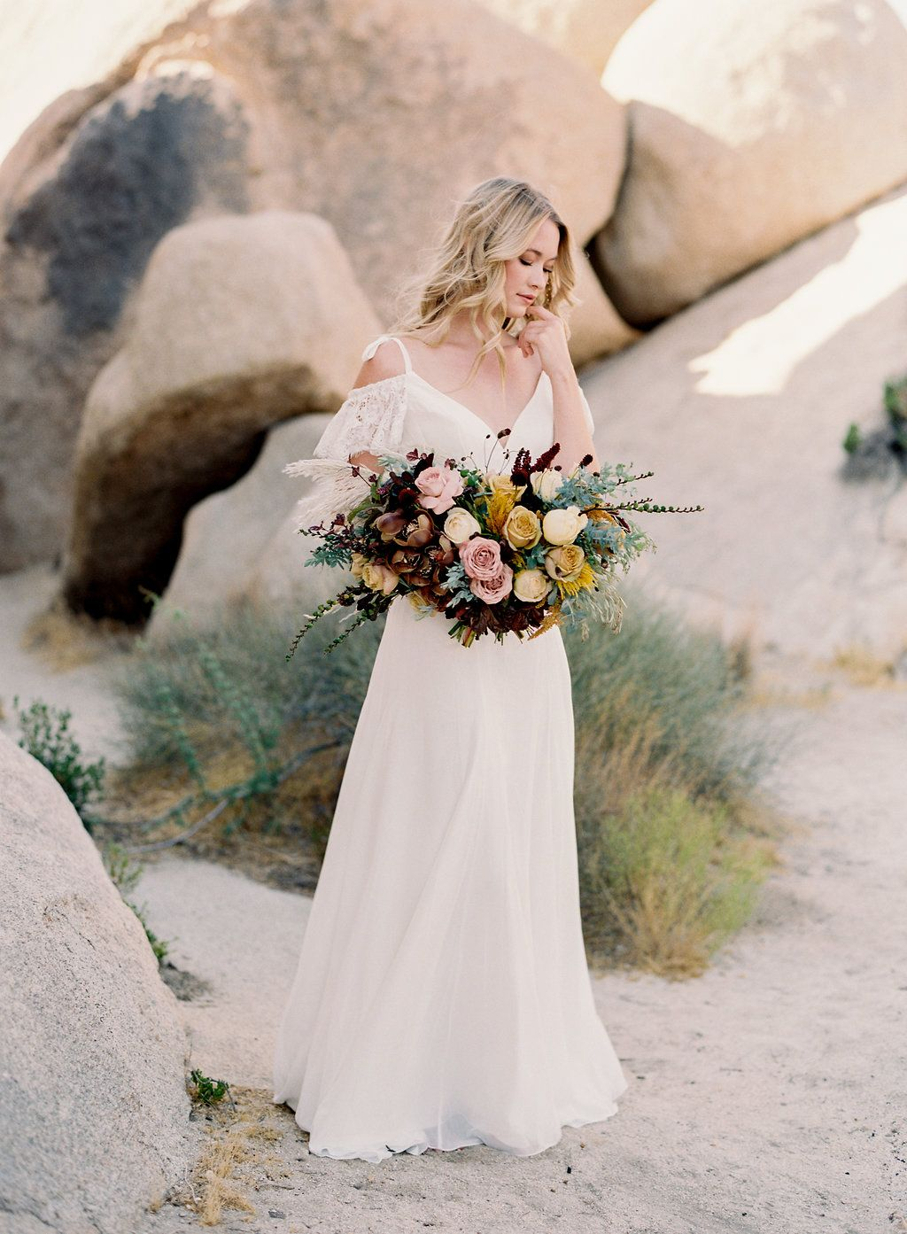 Bridal gowns with a wild and wonderful sense of wedding style by