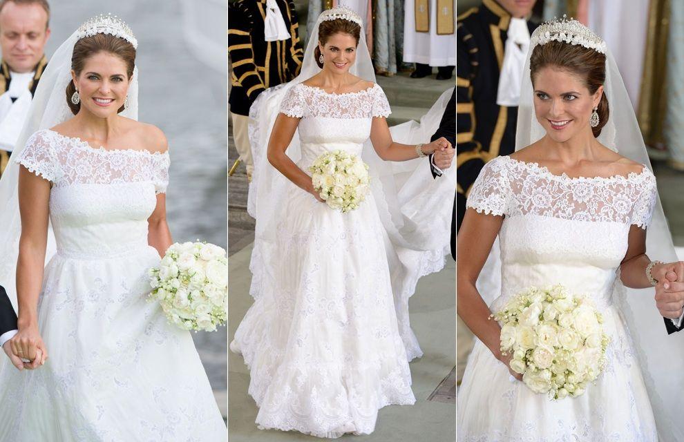Wedding Dress By Valentino For Hrh Princess Madeleine Of