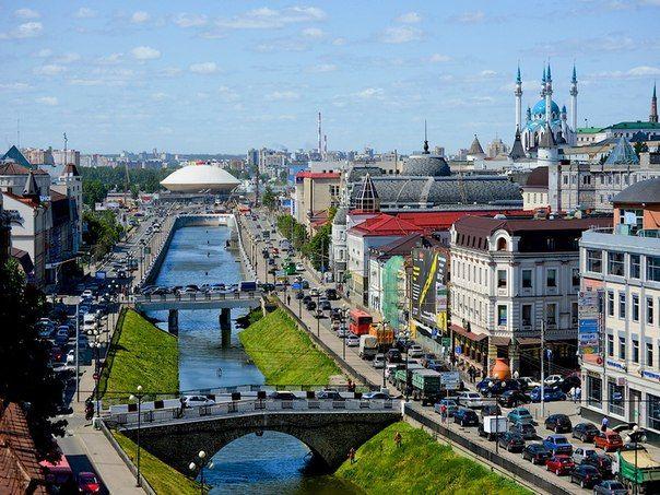 Самые красивые улицы и достопримечательности Казани