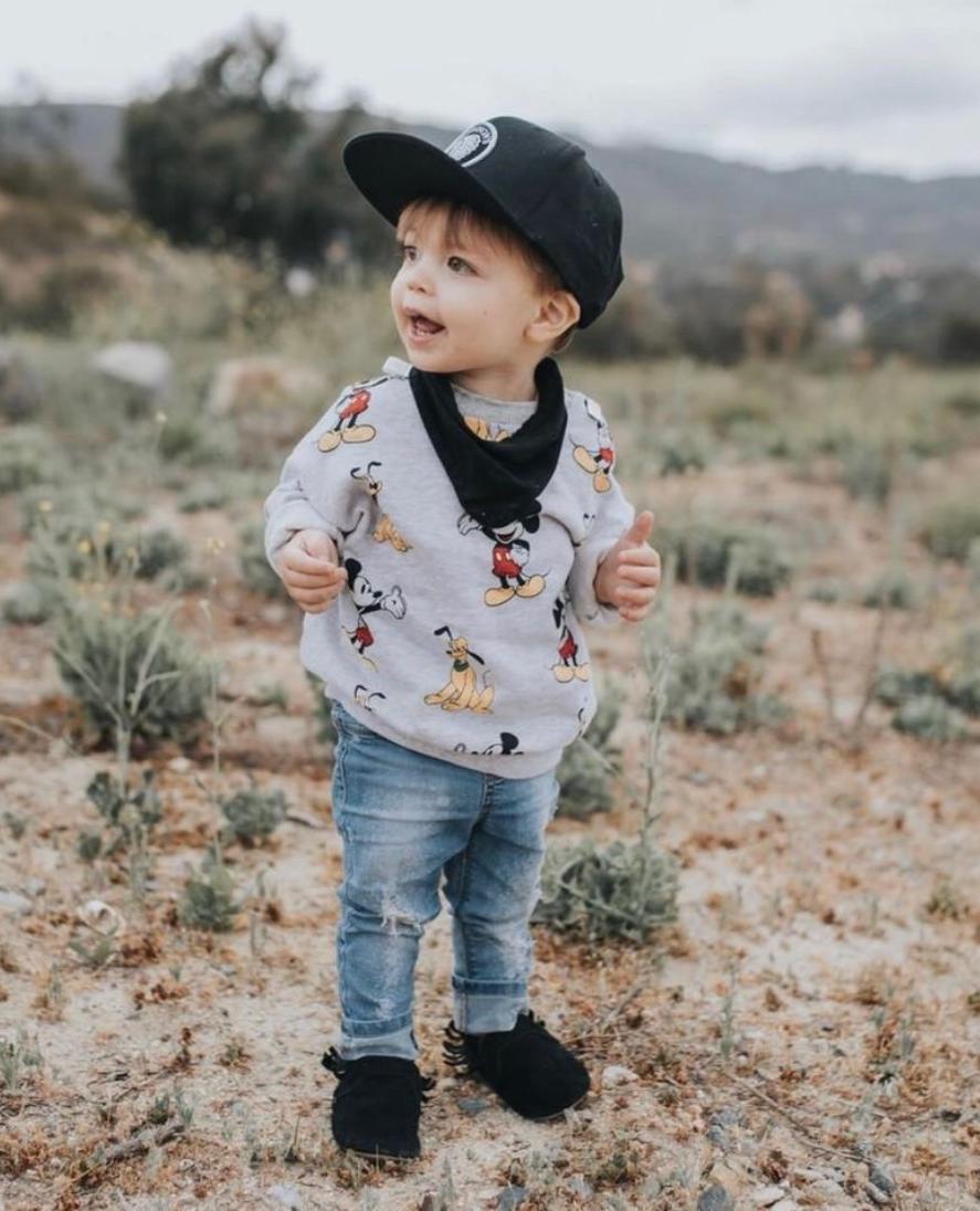 Baby boy moccasins, Toddler