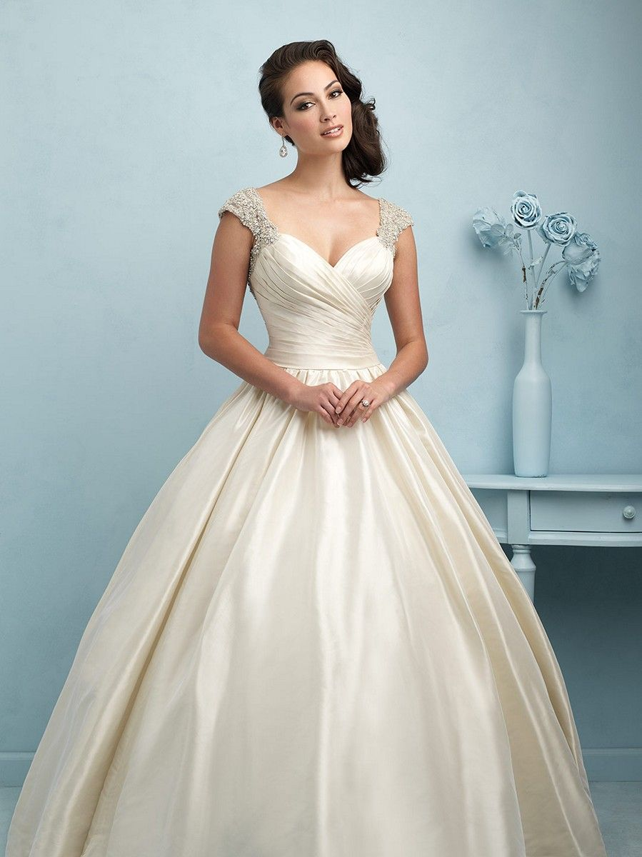 Look no further than the Allure Bridals 9204 wedding dress for a ...