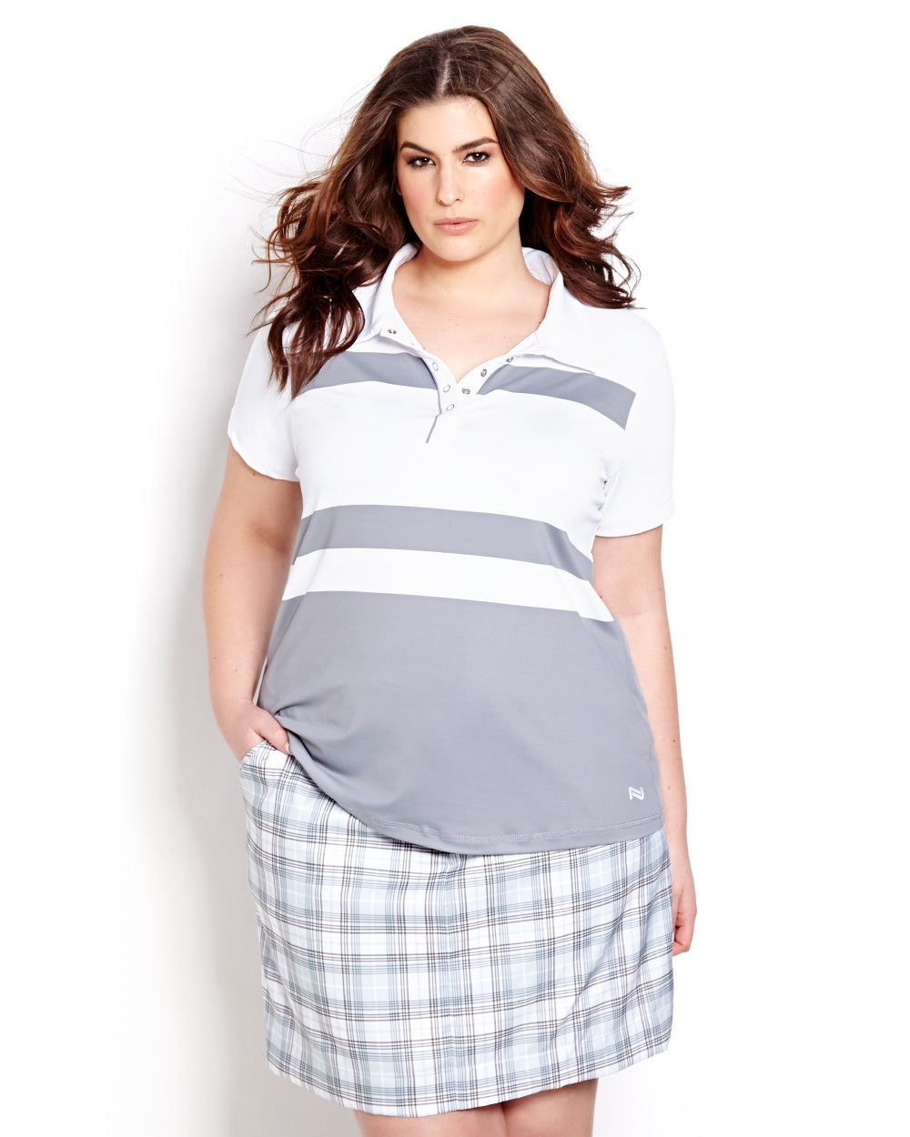 42ac6c2c94d1c5 NOLA plus-size Golf Collection from Addition Elle. I don t play golf but  this is really pretty!