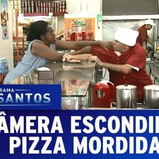 Cameras Escondidas 28 02 16 Pizza Mordida Programa Silvio
