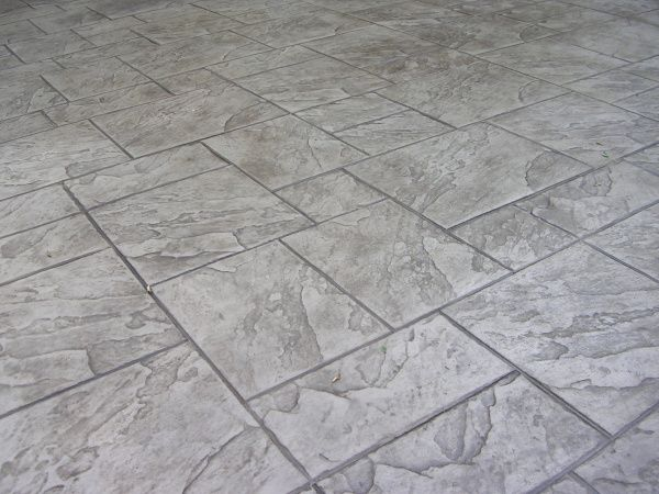 Driveway Surface Options Continue To Multiply Stamped Concrete Stain Patio