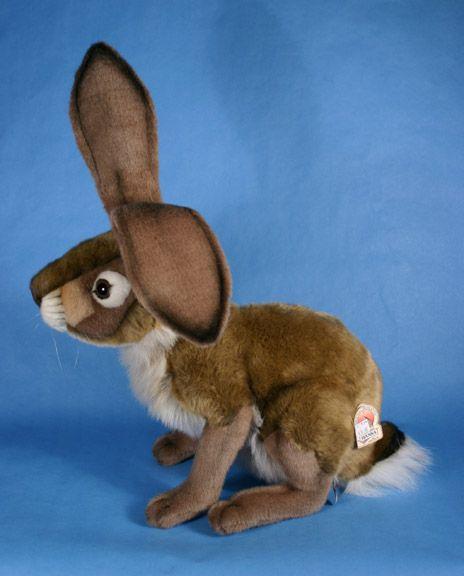Large Jackrabbit or Hare Plush Toy