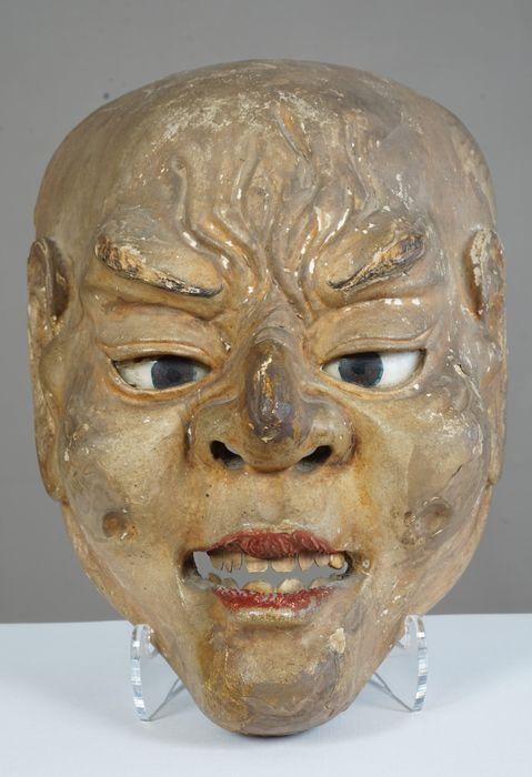 Maison de ventes aux enchères en ligne Catawiki: Expressive mask - Japan - ca. 1900