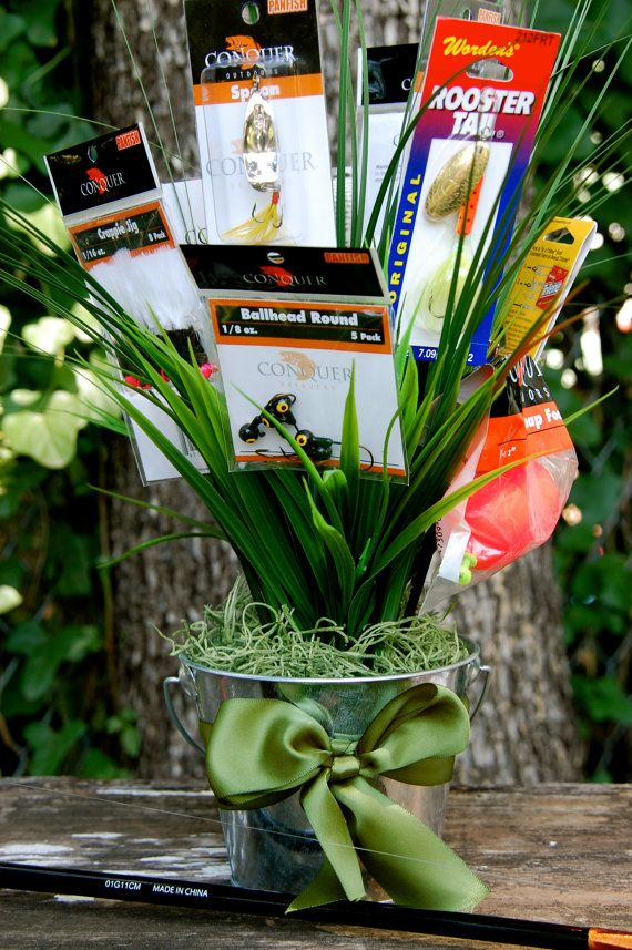 Fisherman S Bouquet Bouquet Of Fishing Lures By
