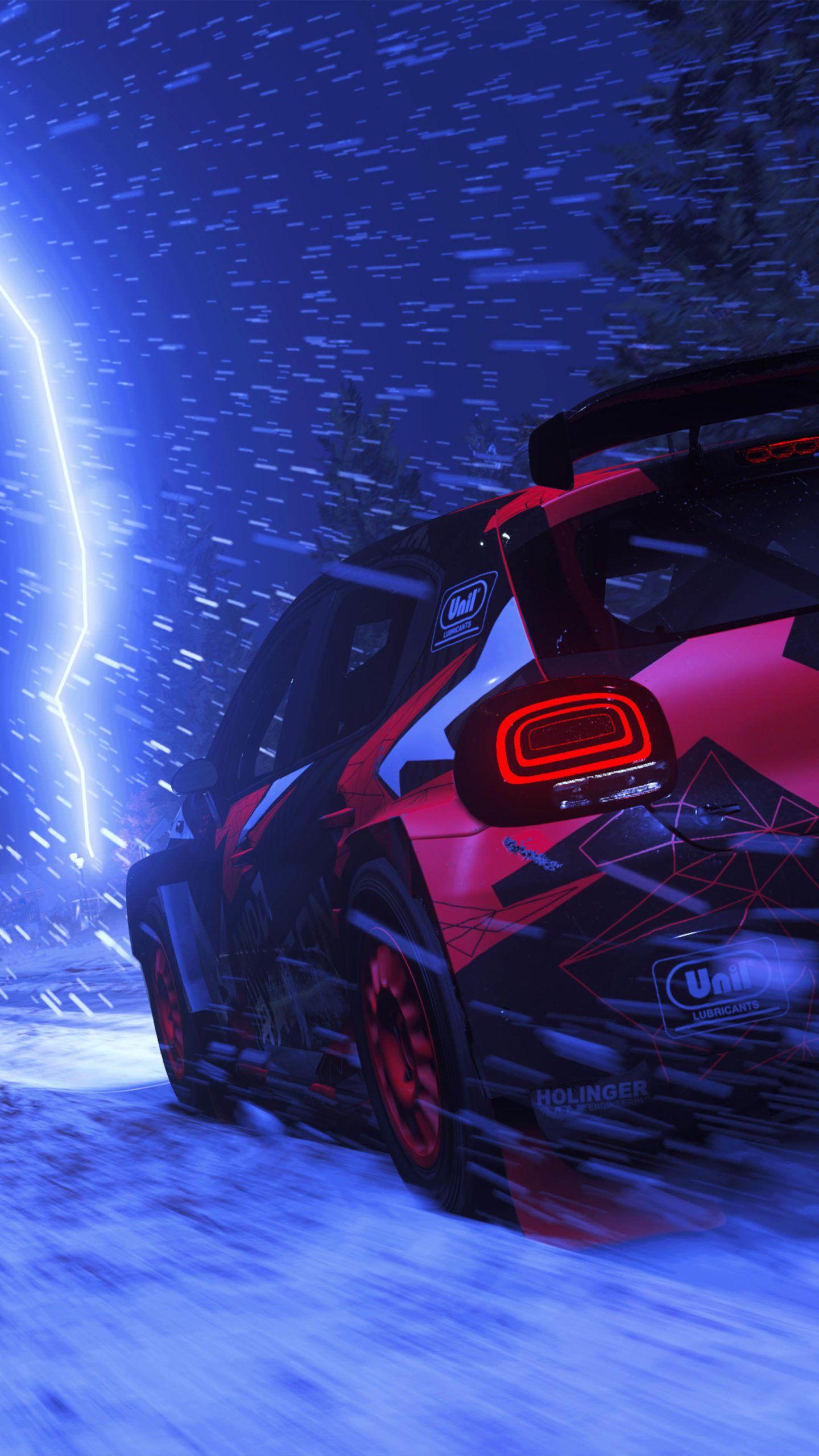 Dirt 5 Race Lightening 4k Ultra Hd Mobile Wallpaper In 2021 Futuristic Cars Design Sports Car Wallpaper Car Wallpapers