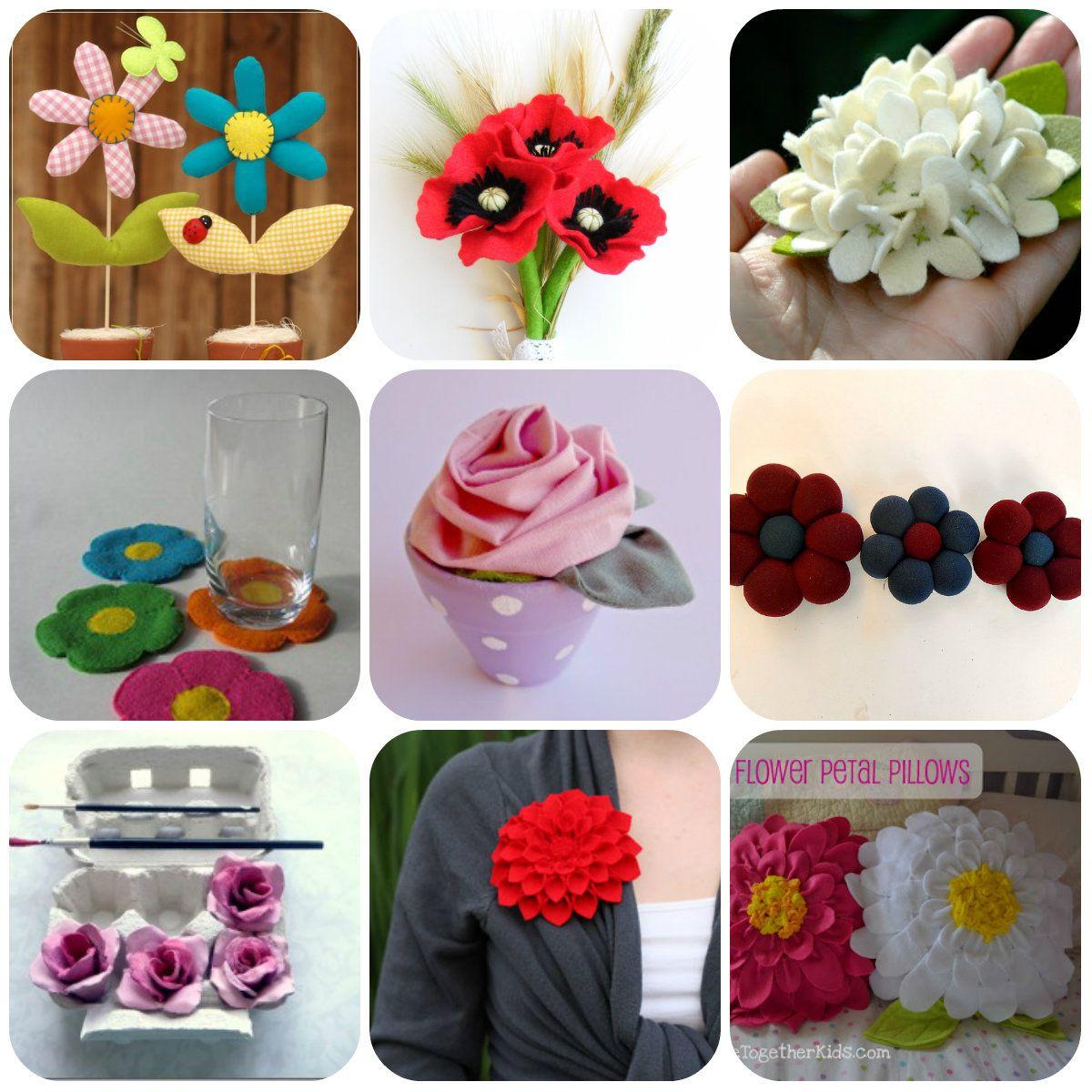 Fiori fai da te: tutorial | Flower making, Crafts, Flower ...