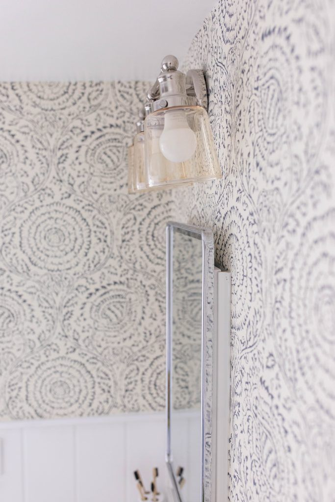 Photo of Modern Farmhouse Style Bathroom Makeover Reveal