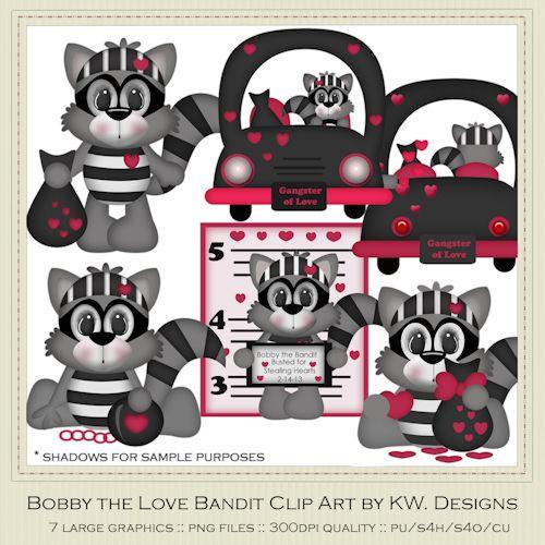 Bobby Love Bandit Raccoon