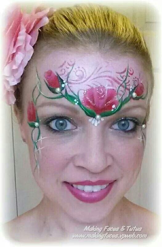 15 Beautiful Face Paintings by Valeriya Kutsan