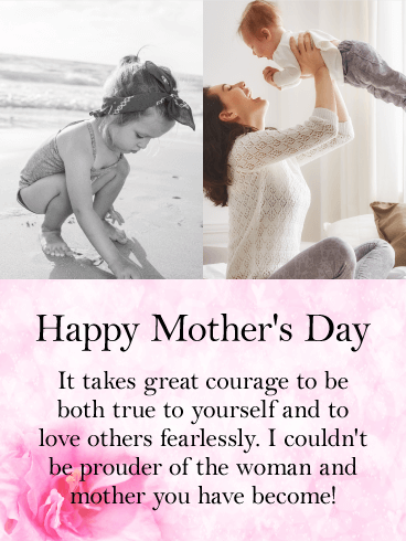 For A Dear Daughter Happy Mother S Day Card Birthday Greeting Cards By Davia Happy Mothers Day Wishes Happy Mother Day Quotes Happy Mothers