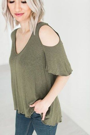 This super cozy T-shirt is equal parts comfy and ~flirty.~   21 Summer Tops That Are Perfect For People Who Are Always Hot