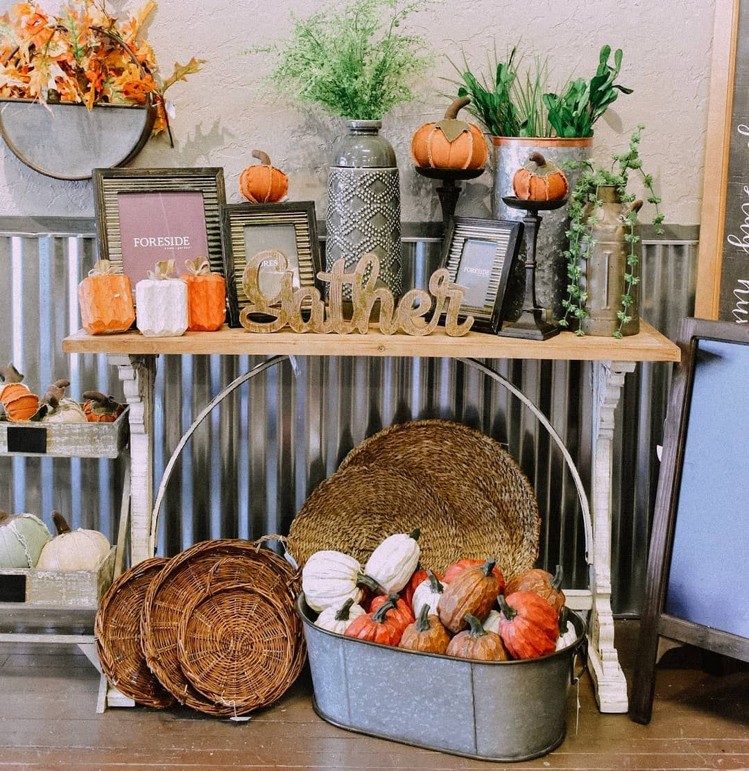 Sprinkle In A Little Fall Decorating In Your Home By