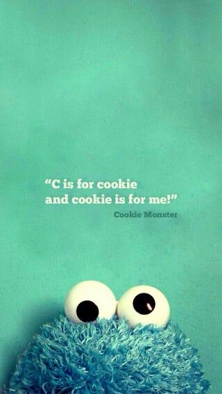 Pin By T On Phone Backgrounds Cookie Monster Wallpaper Wallpaper Iphone Love Monster Cookies