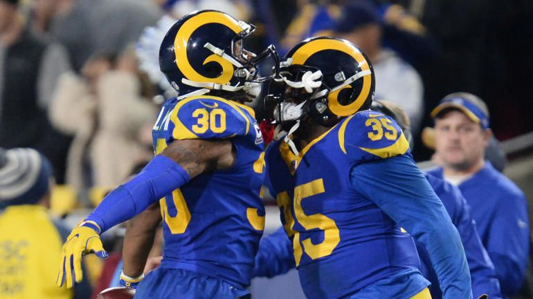 reputable site e3286 8d6fc 2019 Super Bowl jerseys: Los Angeles Rams to wear blue and ...