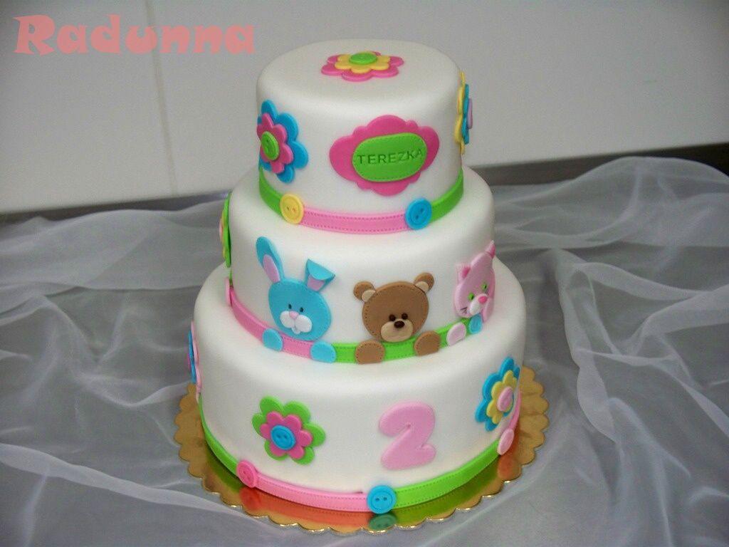 dětský dort k 1 narozeninám Dorty od Radunny   Fotoalbum   dorty dětské   Dorty k prvním  dětský dort k 1 narozeninám