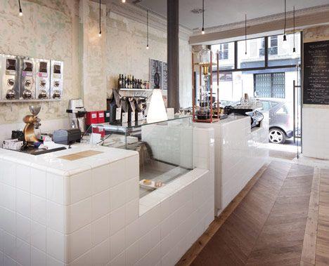 cafe restaurant - Marble Cafe Decoration