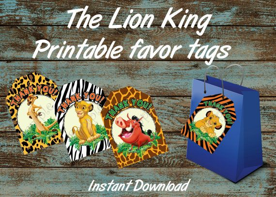 Lion King Birthday Party Package Lion King Birthday Party Supplies