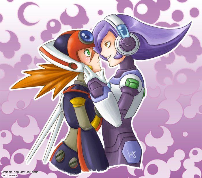 Axl X Lumine Mega Man Art Awesome Anime Mega Man