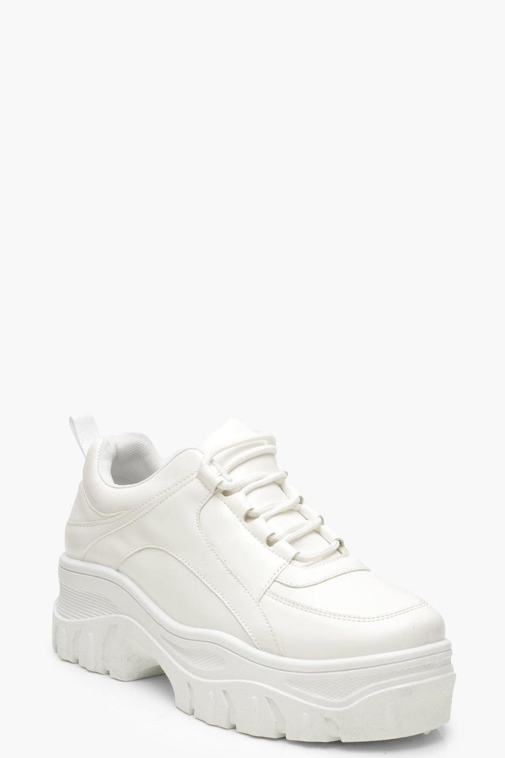 Chunky Platform Lace Up Trainers