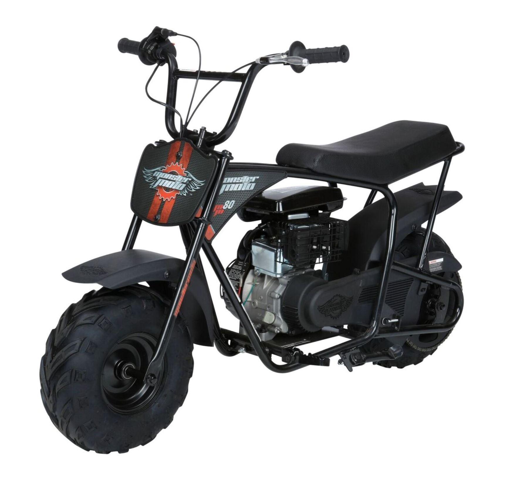 Monster Moto Gas Youth Mini Bike Size Large Mini Bike Gas