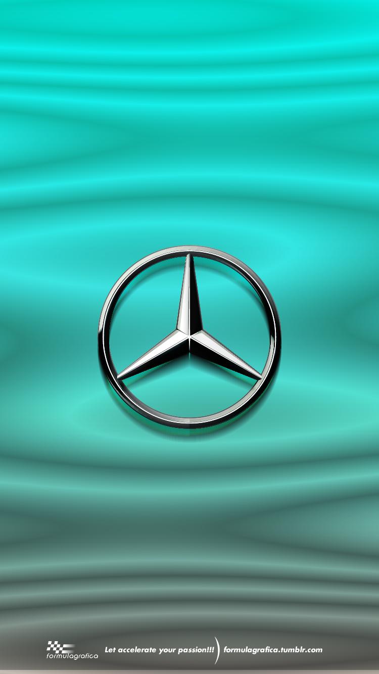 Mercedes Logo Wallpaper : mercedes, wallpaper, Iphone, Wallpaper, Formula, Season, Liveries, Mercedes, Petronas, Motorsport, (W09), Wallpaper,