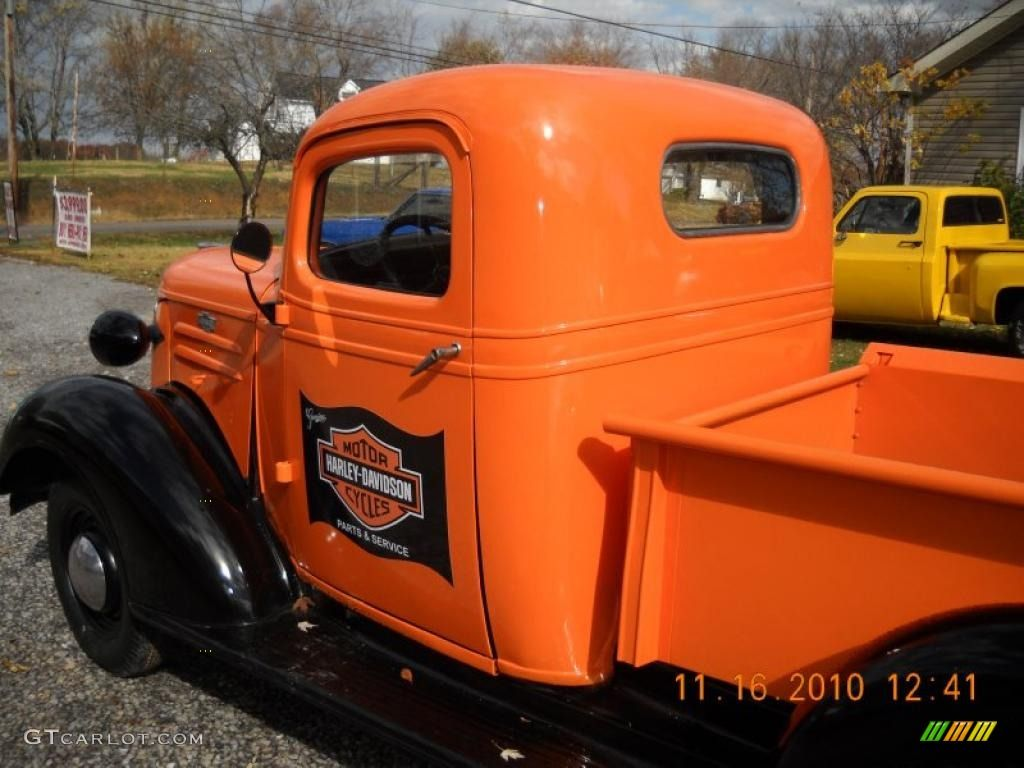 trucks painted harley colors |  pickup harley-davidson theme