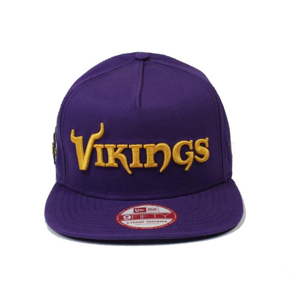Home Caps New Era New Era Nfl Minnesota Vikings Wordmark New Era Vikings Minnesota Vikings